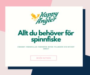 Annons för Happy Angler